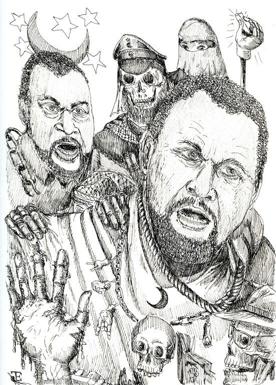 04a caricaturgis danse macabre 30 for Histoire macabre